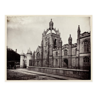 Kung högskola Aberdeen - vykort