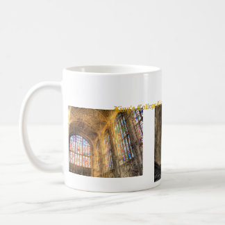 Kung högskolaperspektiv kaffemugg