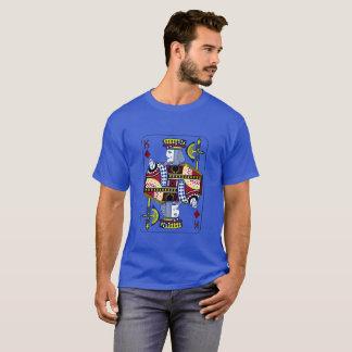 """""""Kung kunglig blåttT-tröja av för diamanter"""" Tee Shirt"""