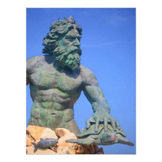 Kung Neptune av Shirley Taylor Fototryck