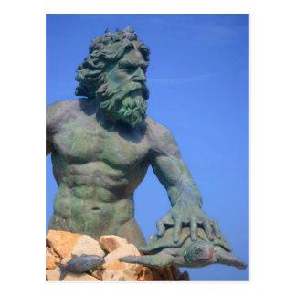 Kung Neptune av Shirley Taylor Vykort