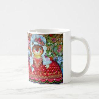 Kung och drottning kaffemugg