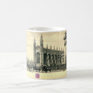 Kung parad, Cambridge England vintage 1915 Kaffemugg