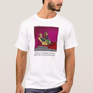 """Kung/skjorta """"Pandemonium """" för Tee"""