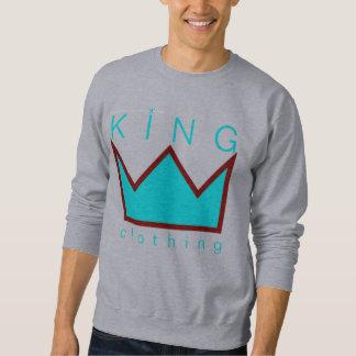 kung som beklär kronalogotyptröjan långärmad tröja