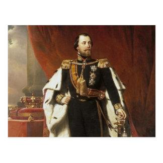 Kung Willem III av Nederländerna - Pieneman Vykort