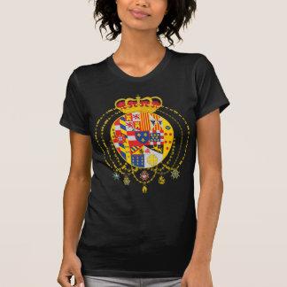 Kungarike av vapenskölden för två Sicilies T-shirt