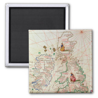 Kungarikena av England och Skottland Magnet