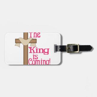 Kungen är kommande bagagebricka