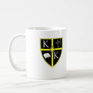Kungen av kungar skyddar muggslätten kaffemugg