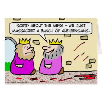 Kungen ber om ursäkt för oreda vänstert från massa hälsningskort