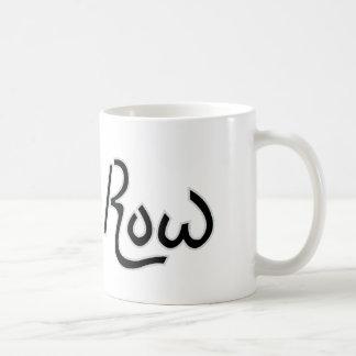 Kungen ror muggen (vit) kaffemugg