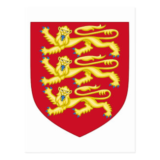 Kunglig ärmar av England (1198-1340) Vykort