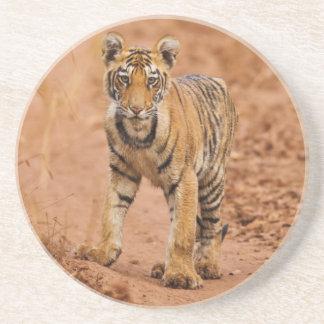 Kunglig Bengal tigerunge på flyttningen Underlägg