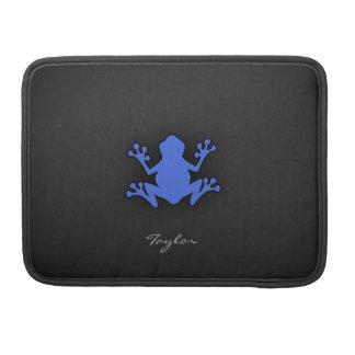 Kunglig blåttgroda sleeve för MacBooks