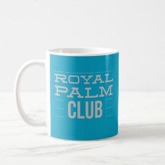 Kunglig handflatanklubbmugg kaffemugg