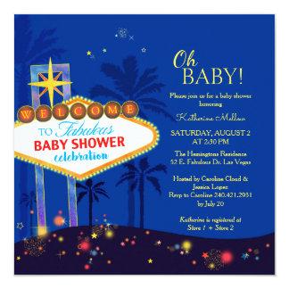 Kunglig inbjudan för blåttLas Vegas baby shower
