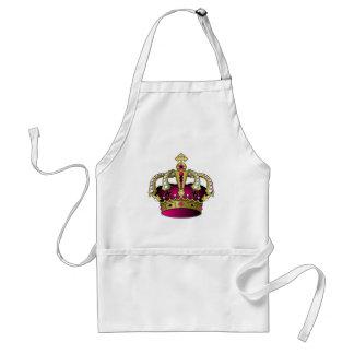 Kunglig krona förkläde