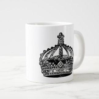 Kunglig kronajumbomugg jumbo mugg
