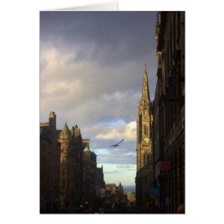 Kunglig Mile i Edinburgh Hälsningskort