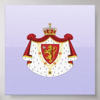 Kunglig norge, Danmark Affischer
