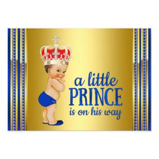 Kunglig Prince baby shower 12,7 X 17,8 Cm Inbjudningskort