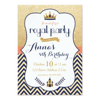 Kunglig Princess Festa Inbjudan 12,7 X 17,8 Cm Inbjudningskort