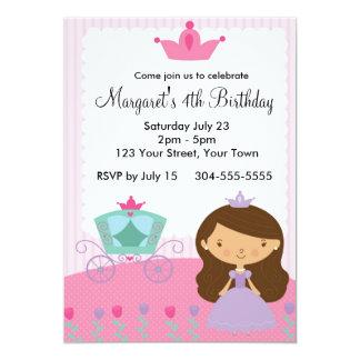 Kunglig Princess födelsedagsfest 12,7 X 17,8 Cm Inbjudningskort