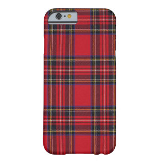 Kunglig Stewart Tartan Barely There iPhone 6 Skal