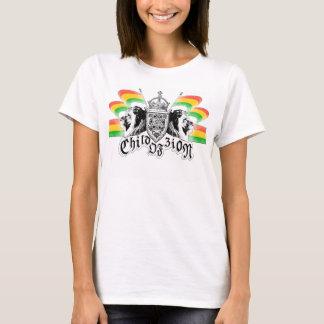 Kunglig vapensköld för Rasta Reggae T Shirt