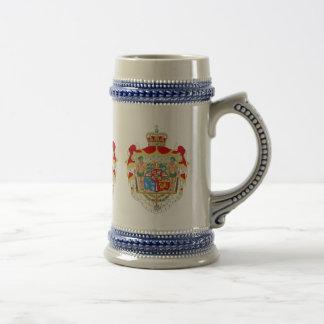 Kunglig vapensköld för vintagedanska av Danmark Ölkrus