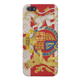 Kunglig vapensköld på facklig jackflagga iPhone 5 cases