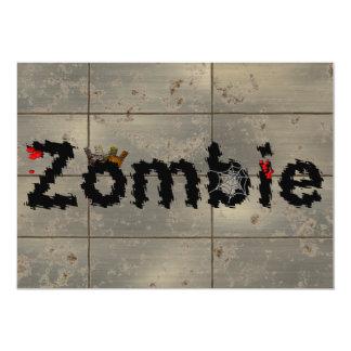 Kunglig Zombie 12,7 X 17,8 Cm Inbjudningskort