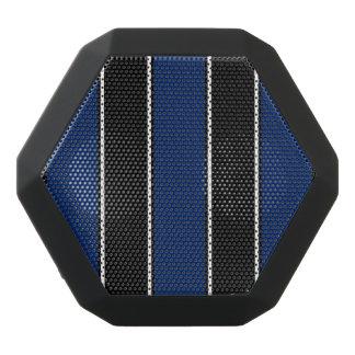 Kungliga blått och Svart-Görad randig Bluetooth Svart Bluetooth Högtalare