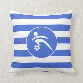 Kungliga blått- och vitrandar; Fotboll Kudde