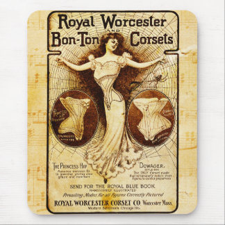 Kungliga Worcester korsetter Mus Mattor