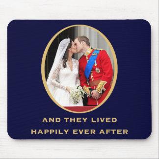 Kungligt bröllop musmatta