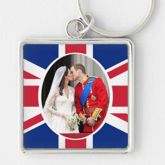 Kungligt bröllop nyckelring