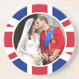 Kungligt bröllop underlägg sandsten