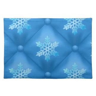 Kungligt mönster för blåttjulSnowflake Bordstablett