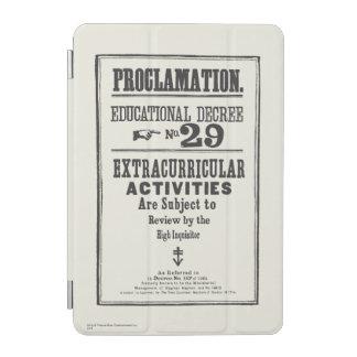Kungörelse 29 iPad mini skydd