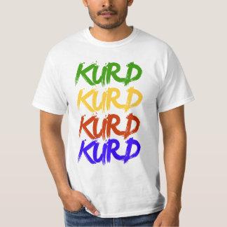 Kurd i färger t-shirt
