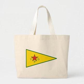 Kurdish frihetskämpar jumbo tygkasse
