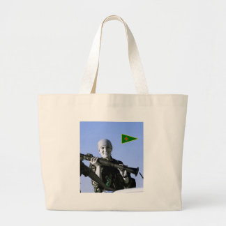 Kurdish konst för YPJ-kämpe 4 Jumbo Tygkasse
