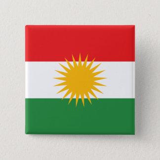 Kurdistan Democratic Republic of the Congo Standard Kanpp Fyrkantig 5.1 Cm