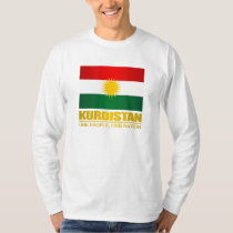 Kurdistan (ett folk, en nation) tee shirt