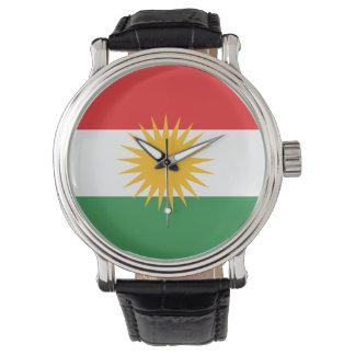 Kurdistanflagga Armbandsur