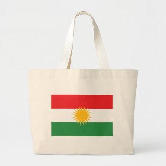 Kurdistanflagga Jumbo Tygkasse