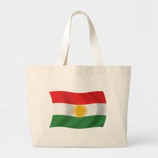 Kurdistanflaggatotot hänger lös jumbo tygkasse