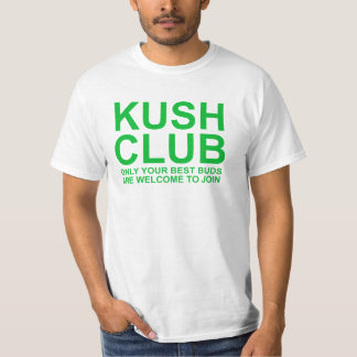 KushClub endast dina bäst knoppar är inbjuden Tshirts